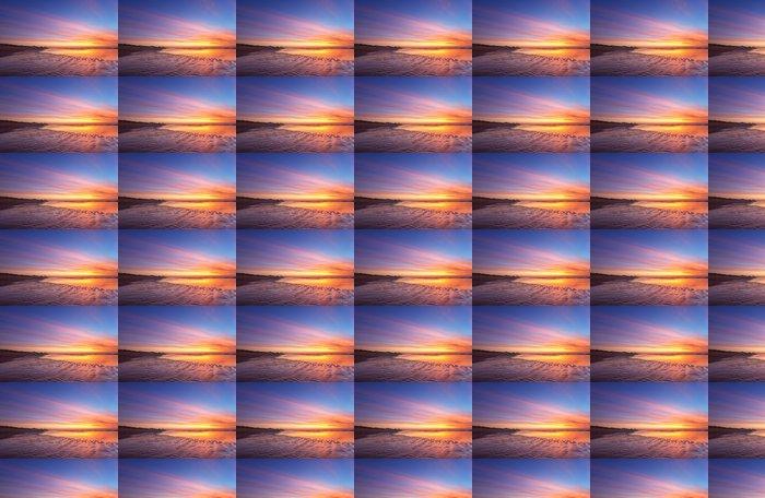 Vinylová Tapeta Moře a západ slunce - Voda
