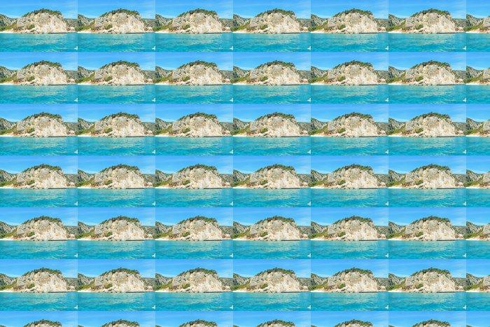 Vinylová Tapeta Skály a modré moře - Evropa