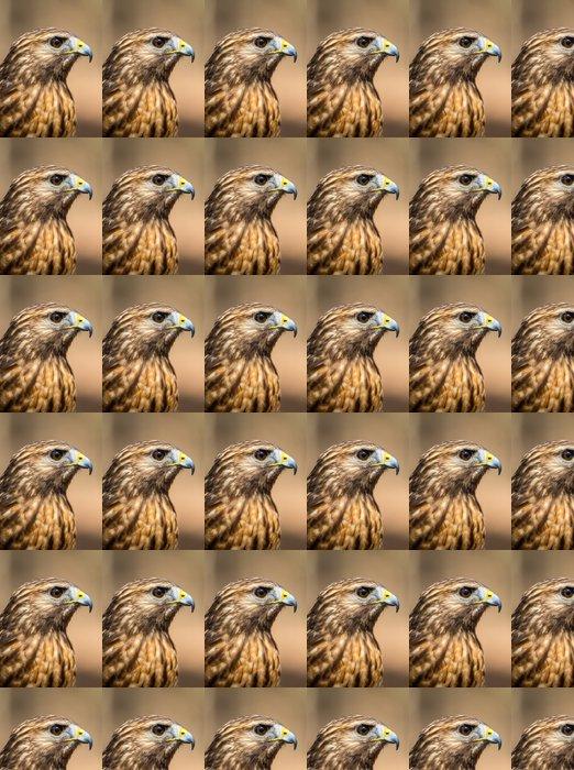 Tapeta winylowa Red Myszołów - Ptaki