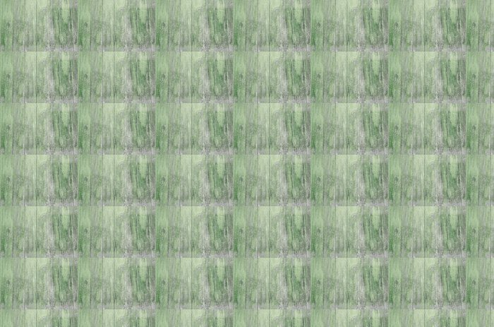 Vinylová Tapeta Holzwand grün, verwittert - Struktury