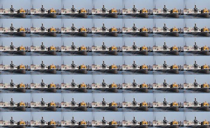 Vinylová Tapeta Ruská ponorka v Hamburku - Lodě