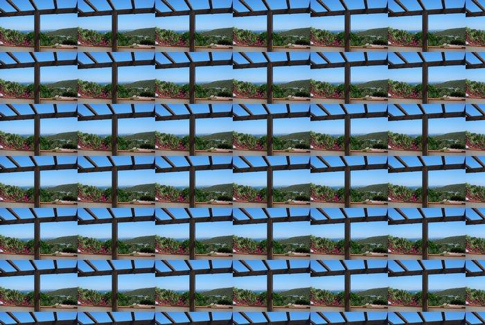 Vinylová Tapeta Sea z verandy - Prázdniny