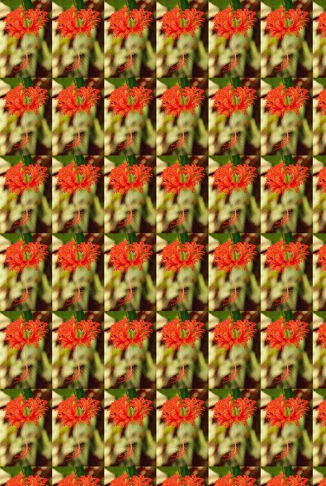 Vinyl Behang Pfeifenputzer Pflanze - Bottlebrush planten 01 - Bloemen