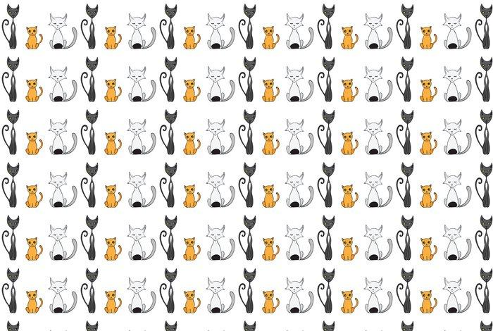 Vinylová Tapeta Cartoon kočky ilustrace - Savci