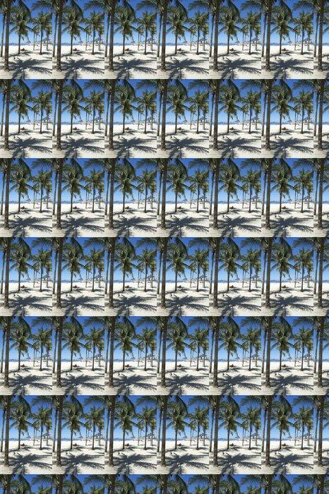 Vinylová Tapeta Copacabana Beach Rio de Janeiro Palmy - Americká města