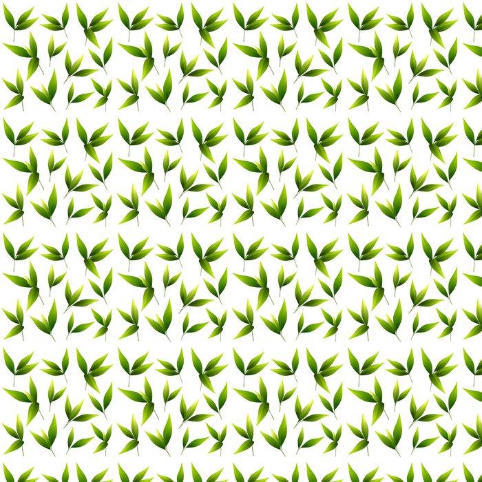 Vinylová Tapeta Sada krásné zelené listy - Rostliny
