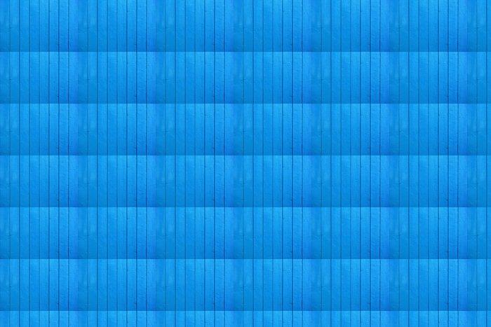 Vinylová Tapeta Modrá malované dřevěné podlahy jako pozadí nebo textury - Struktury