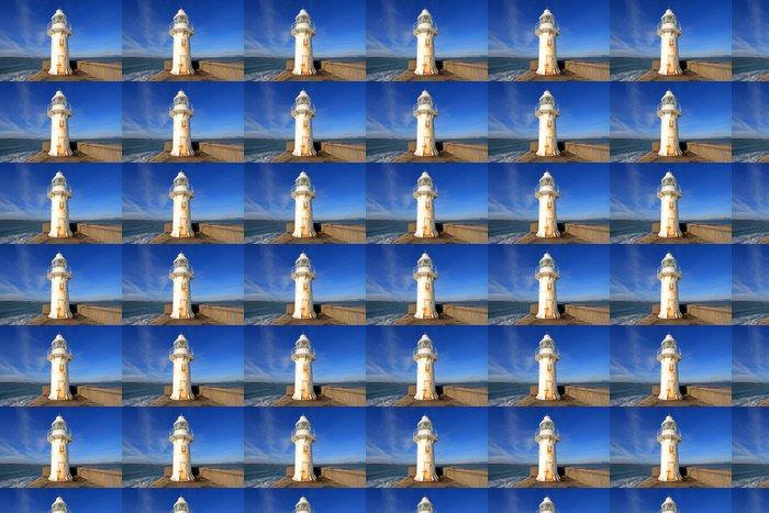 Vinylová Tapeta Brixham Lighthouse - Evropa