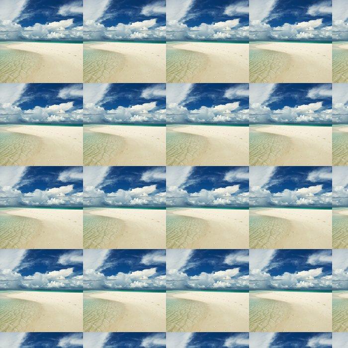 Vinylová Tapeta Krásná pláž s Sandspit na Maledivách - Prázdniny