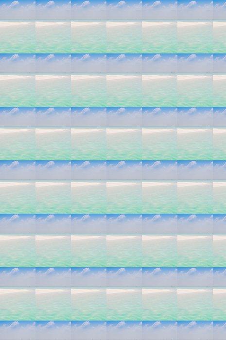 Vinylová Tapeta Vlny na břehu White Sand Beach - Voda