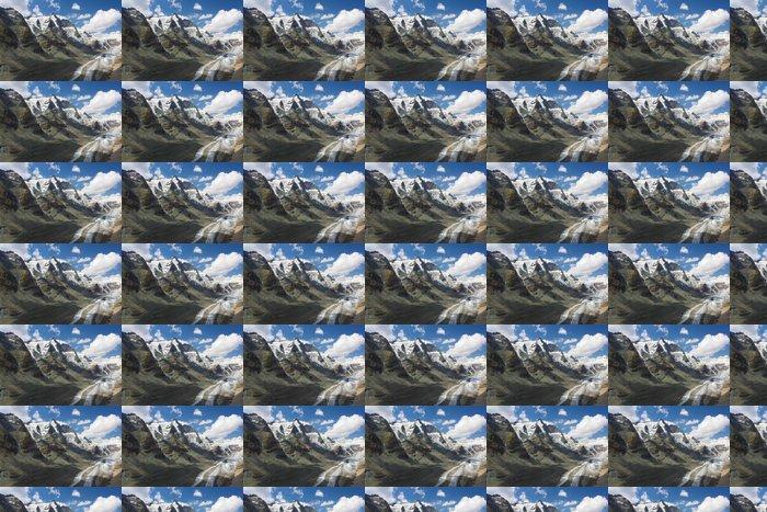 Vinylová Tapeta Grossglockner a ledovec Pasterze - Hory