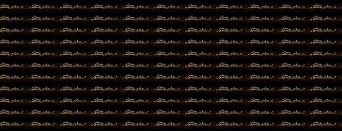 Vinylová Tapeta Panoramatický pohled na Terstu v noci - Evropa