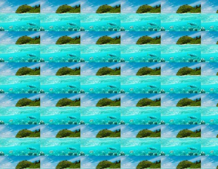 Vinylová Tapeta Tropický ostrov - Prázdniny