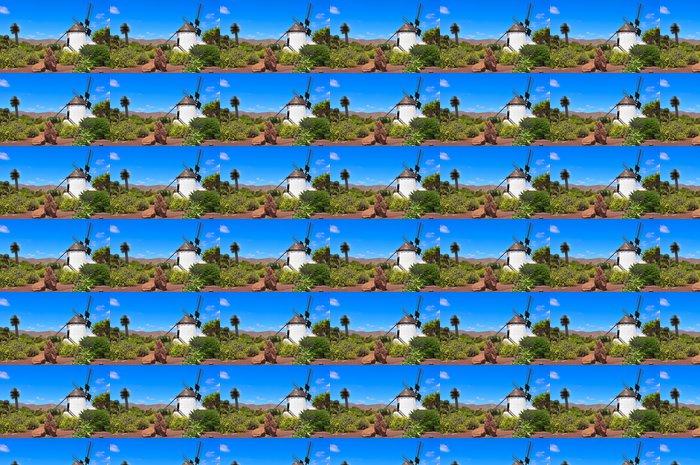 Vinylová Tapeta Větrný mlýn v Antigua, Fuerteventura, Kanárské ostrovy, Španělsko - Evropa