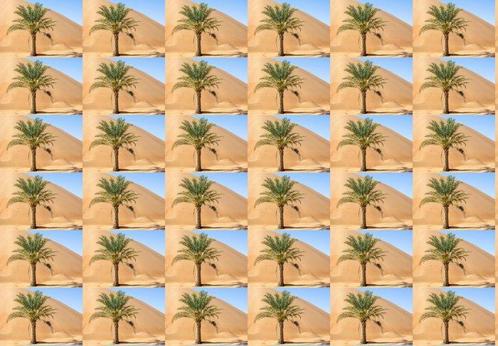 Vinylová Tapeta Palma v poušti Liwa duny - Pouště