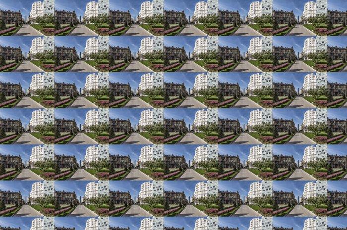 Vinylová Tapeta Bilbao náměstí - Evropa