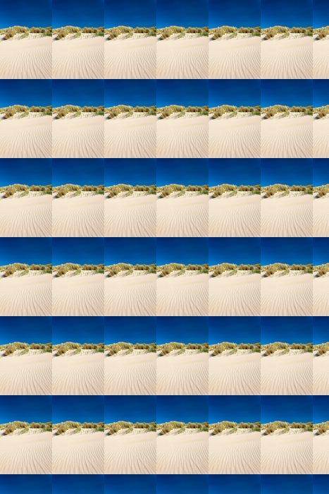 Vinylová Tapeta Písečné duny s pláží trávy v Nizozemsku - Evropa