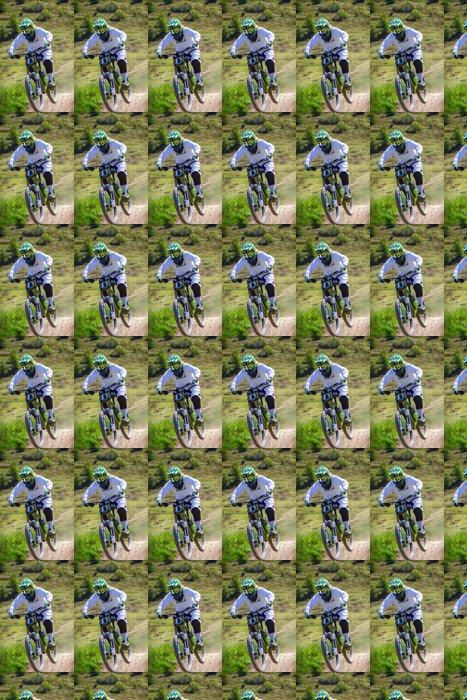 Vinylová Tapeta Girl-biker - Individuální sporty