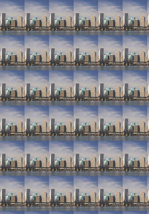 Vinylová Tapeta Miami Florida panorama centrální budovy - Amerika
