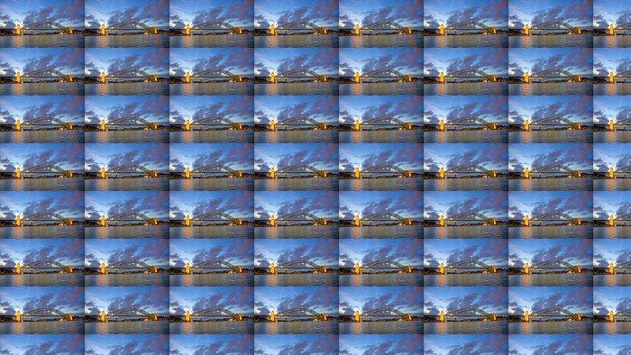 Vinylová Tapeta Sunste v Sydney Harbour Bridge - Témata