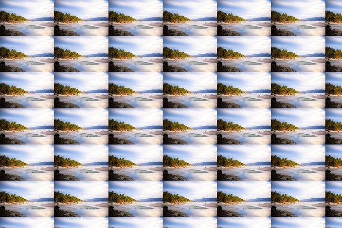 Vinylová Tapeta Barevné světlé západ slunce na ostrově Boracay, Filipíny - Voda
