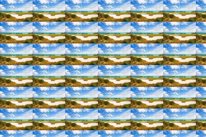 Vinylová Tapeta Golfové hřiště - Voda