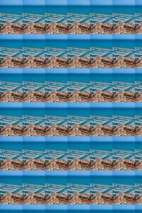 Vinylová Tapeta Moraira Club Nautico marina letecký pohled v Alicante - Evropa