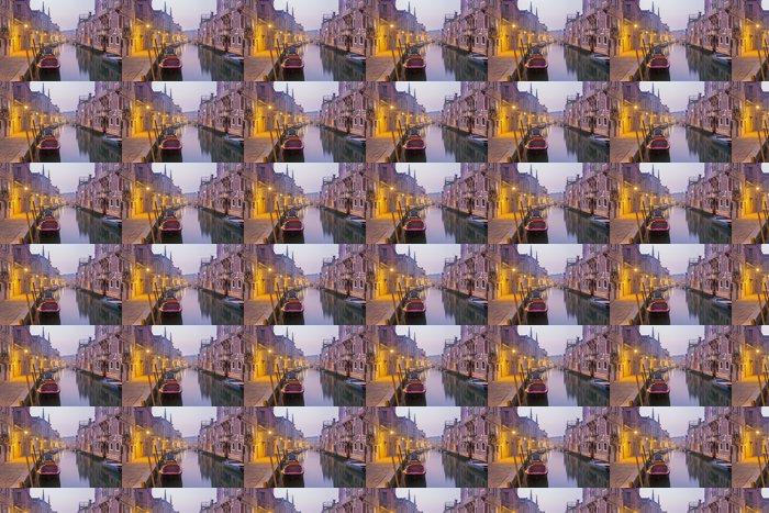 Vinylová Tapeta Benátky - Fondamneta Gaspara Contrarini ulice v dopoledních hodinách - Evropská města