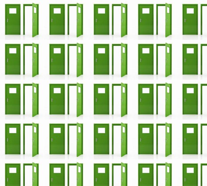 Vinylová Tapeta Zelená podle - Značky a symboly