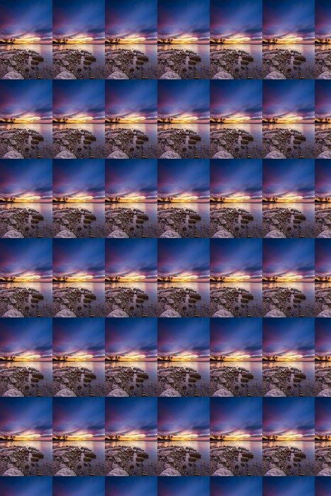 Vinylová Tapeta Benbrook Lake Sunset - Nebe