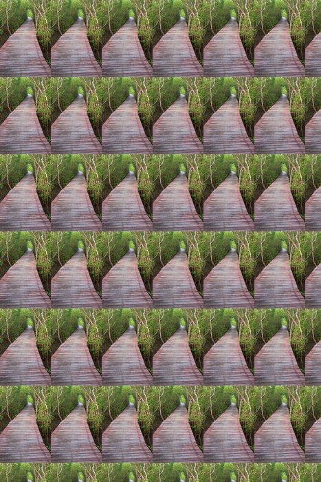 Vinylová Tapeta Most dřevo v mangrovových lesů, Thajsko - Lesy
