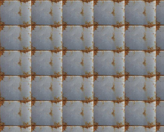Vinylová Tapeta Rezavé kovový díl - Struktury