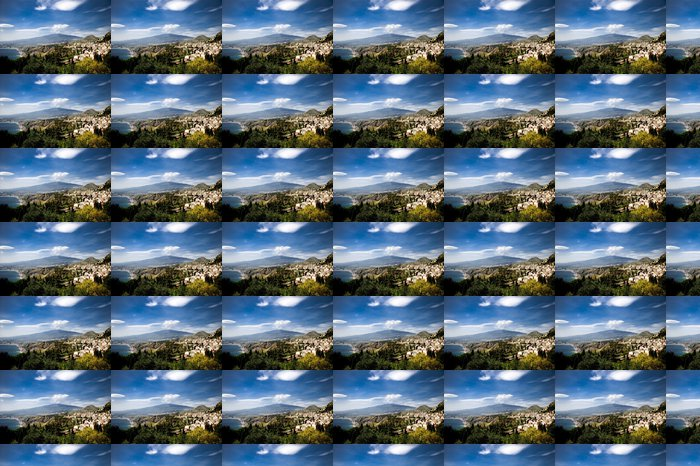 Vinylová Tapeta Etna - Hory