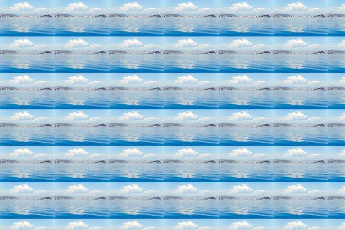 Vinylová Tapeta Denia alicante pohled z modré klidné moře - Voda