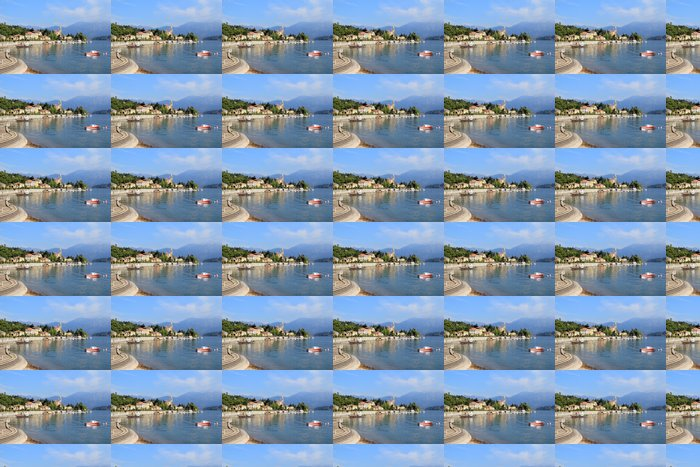 Vinylová Tapeta Le Lac de Côme en Italie - Evropa