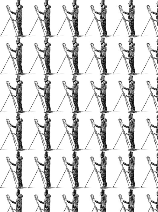 Vinylová Tapeta Umělec pod širým nebem - Umění a tvorba