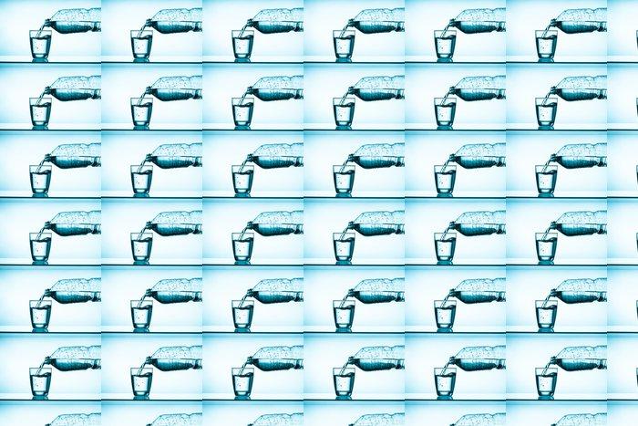 Vinylová Tapeta Balenou vodu a sklo - Zdraví a medicína