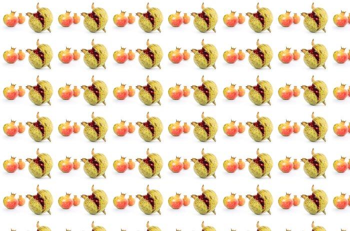 Vinylová Tapeta Granáty ouverte ovoce Mur - Ovoce