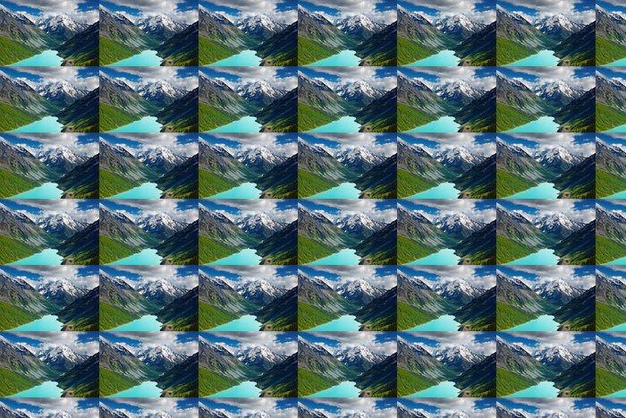 Vinylová Tapeta Krásná tyrkysové jezero v pohoří Altaj - Nebe