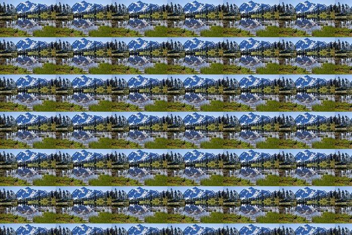 Vinylová Tapeta Odraz stát Lake Mount Shuksan Washington - Extrémní sporty