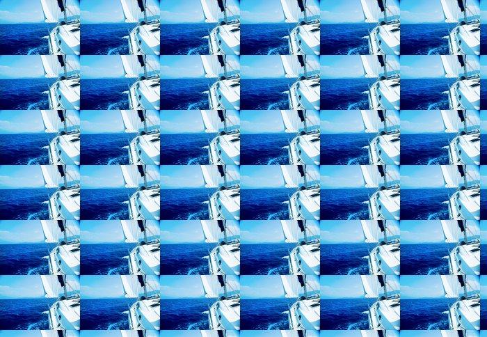 Vinylová Tapeta Yacht Sailing. Jachta - Témata