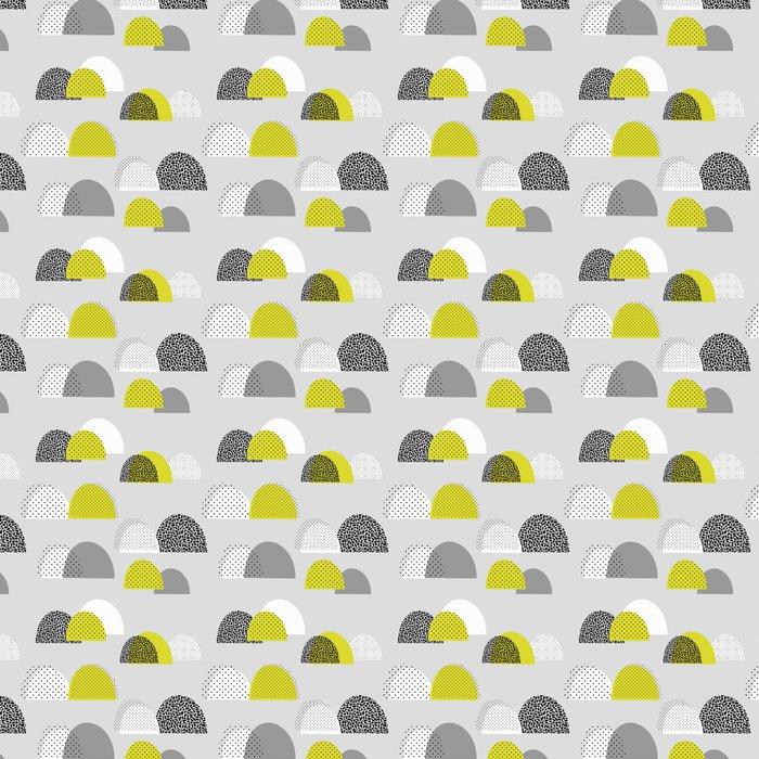 Papel Pintado patrón abstracto sin fisuras con las formas en gris ...