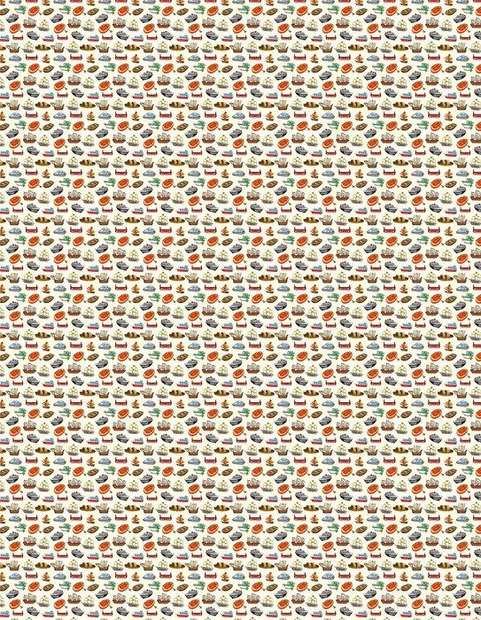 Vinylová Tapeta Seamless pattern člunu - Lodě