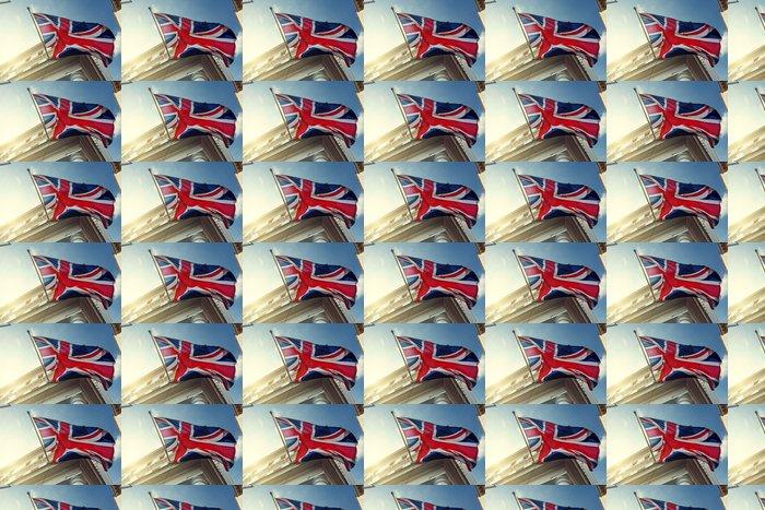Vinylová Tapeta Vlajka Velké Británie na vládní budovy - Evropská města