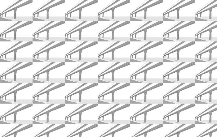 Vinylová Tapeta Bridge skica - Aplikované a přírodní vědy