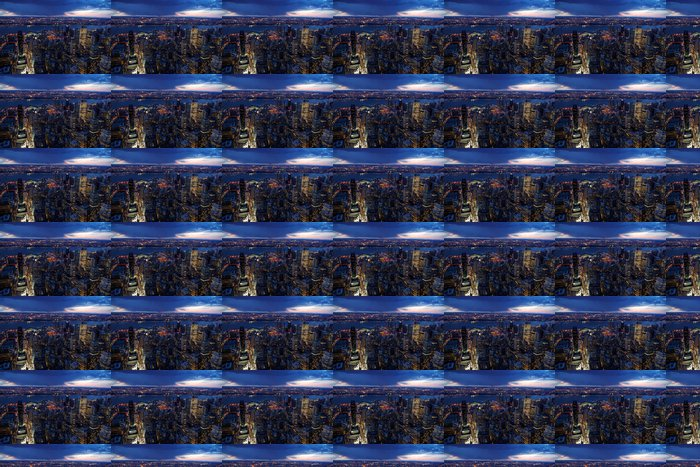 Vinylová Tapeta Skyscrapers - Do předsíně