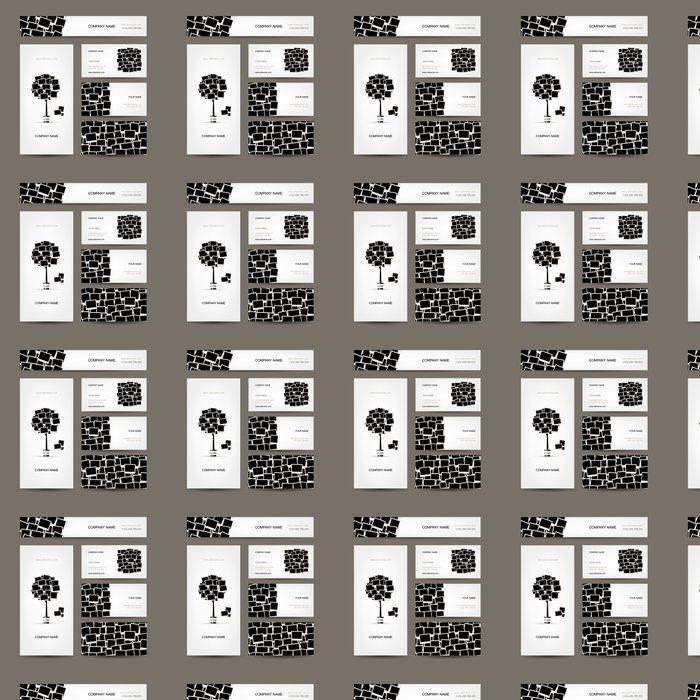 Tapete Visitenkarten Design Digitale Bilderrahmen