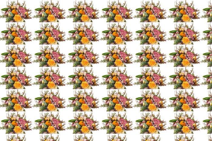 Vinylová Tapeta Kytice s podzimní dekorace na izolované pozadí - Květiny