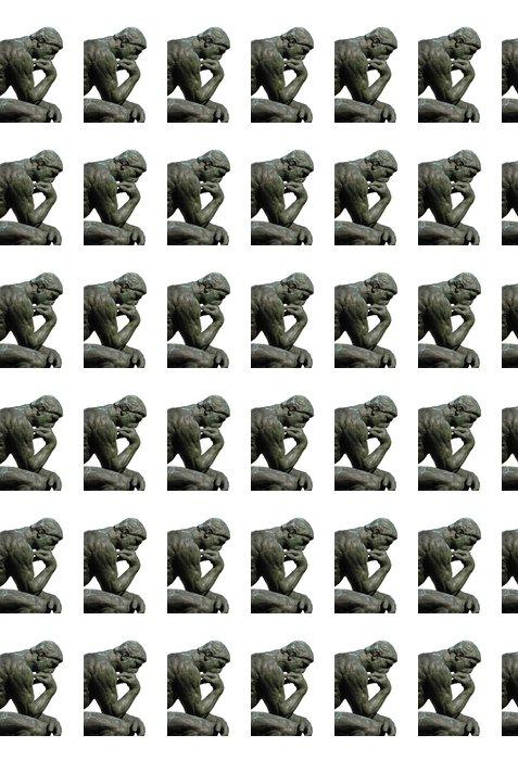 Vinylová Tapeta Myslitel by Rodin - Veřejné budovy