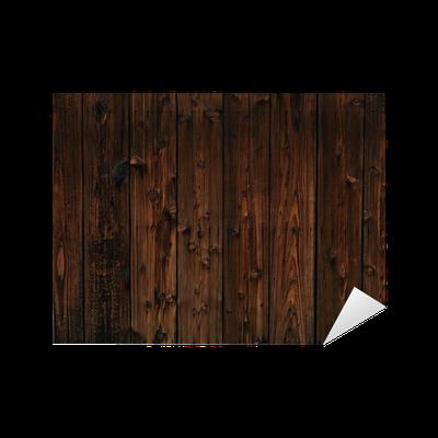 Adesivo vecchio legno scuro texture di sfondo pixers for Adesivi per legno